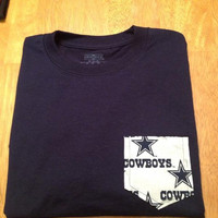Medium navy with Dallas Cowboy frocket
