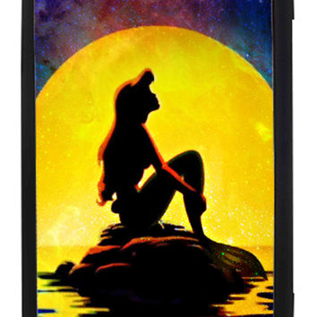 The Little Mermaid Disney Movie silhouette Samsung Galaxy S3 Cases - Hard Plastic, Rubber Case