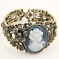 Antique Cutout Bracelet