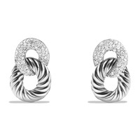 Belmont Drop Earrings with Diamonds - David Yurman