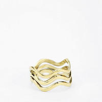 Urban Outfitters - Jen's Pirate Booty Red Sea Triple Wave Ring
