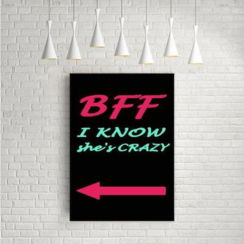 BEST FRIEND BFF COUPLE CASES RIGHT ARTWORK POSTERS