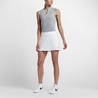 The Nike Ace Swing Knit Racerback Women's Golf Top.