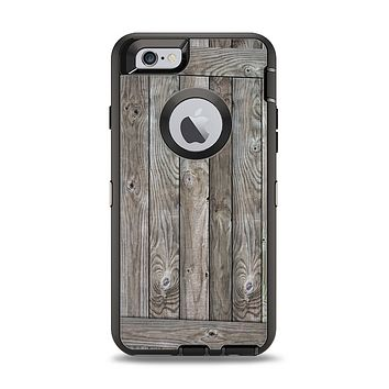 The Wooden Wall-Panel Apple iPhone 6 Otterbox Defender Case Skin Set