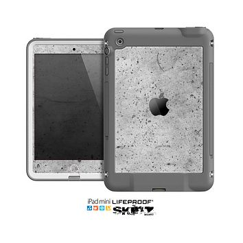The Concrete Grunge Texture Skin for the Apple iPad Mini LifeProof Case