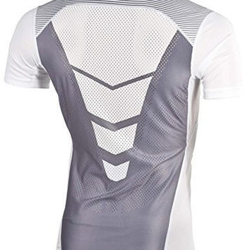 Nike Mens Pro Combat Hypercool Compression Speed Shirt White Large