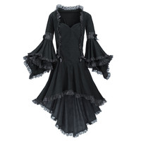 Midnight Garden Dress                              - New Age, Spiritual Gifts, Yoga, Wicca, Gothic, Reiki, Celtic, Crystal, Tarot at Pyramid Collection