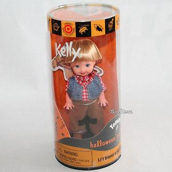 Licensed cool 2000 TOMMY Cowboy KELLY Friend Barbie Doll HALLOWEEN PARTY TARGET SP ED NEW