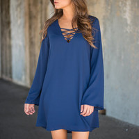 Back And Forth Dress, Navy