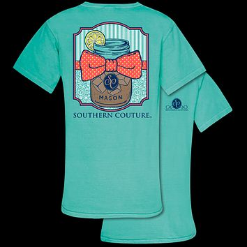 Southern Couture Comfort Mason Jar Tea Comfort Colors T-Shirt