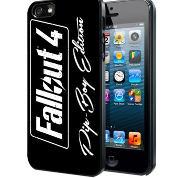 fallout 4 pipboy edition black Samsung Galaxy S3 S4 S5 Note 3 , iPhone 4 5 5c 6 Plus , iPod 4 5 case