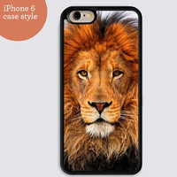 Lion iPhone case iPhone 6 iPhone 6 Plus Case iPhone 4 4S iPhone 5 5S 5C,Samsung Galaxy S3 S4 S5,Soft Plastic Cell Phone Case Accessories