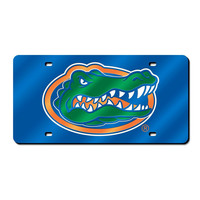 Florida Gators NCAA Laser Cut License Plate Cover