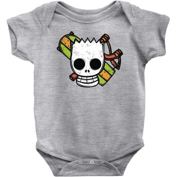 pirate boy Baby Onesuit