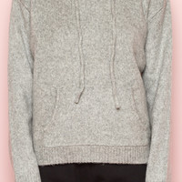 Christy Knit Hoodie