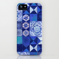 Mosaic Tile iPhone & iPod Case by Janet Broxon