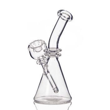 Full Quartz Beaker Rig W/ Built-In Daisy Bowl