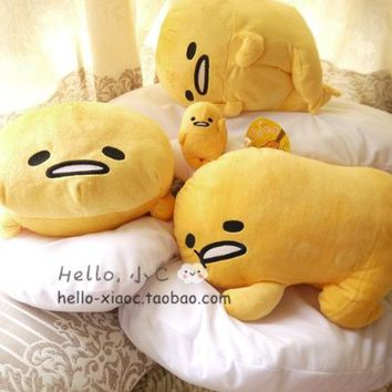 Free shipping Gudetama lazy egg Eggs jun Egg yolk brother large doll pillow lazy balls plush toys gifts