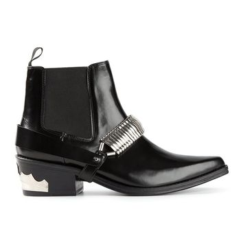 Toga Pulla chain detailed boots