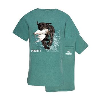 Southern Couture Priority Lab Duck Pocket Unisex T-Shirt