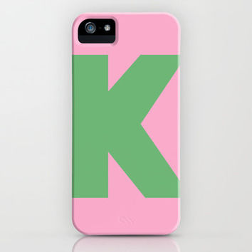 K is for... iPhone & iPod Case by Project M