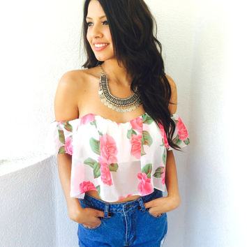 Warda Off The Shoulder Top {Boutique Collection}