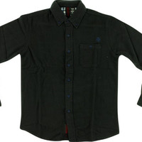 Independent Class Act Longsleeve Button Up Medium Black