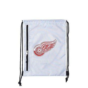 Detroit Red Wings Official NHL Chalk Backsack Backpack by Concept One 016421