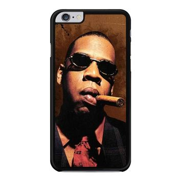 Jay-Z Cigar Glasses Tie Vest 01  iPhone 6 Plus / 6S Plus Case