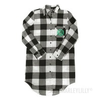 Monogrammed Plaid Tunic | Marleylilly