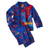 Spiderman Toddler Boys 2pc Coat Pajamas (2T)