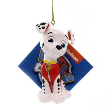 Holiday Ornaments PAW PATROL. Plastic Nickelodeon Dogs Puppies Pp1181 Marshall
