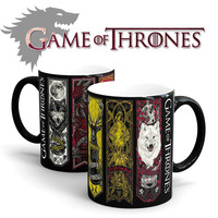 Game Of Thrones mugs Tribal totem mug color changing magic mugs cup Tea coffee mug cup for friend children gift