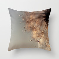 droplets of honey Throw Pillow by ingz