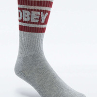 Obey Cooper White and Grey Socks - Urban Outfitters