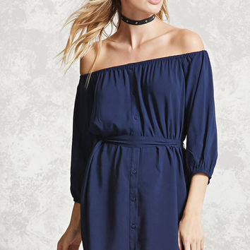 Contemporary Belted Dress