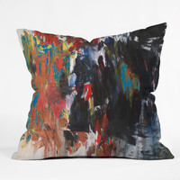 Fresh Artists Storming Outdoor Throw Pillow