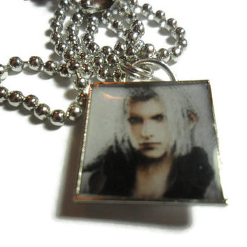 Sephiroth pendant - 18 inches FREE size adjustments - video game - Final Fantasy 7 - Final Fantasy jewelry