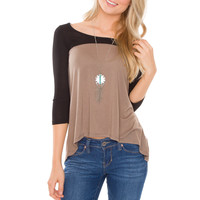 Undercover Two Tone Top