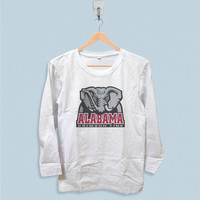 Long Sleeve T-shirt - Alabama Crimson Tide NCAA Logo