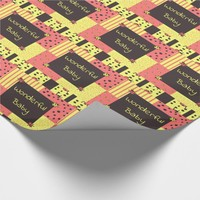 Bittersweet Ladybugs Wrapping Paper