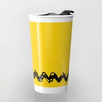 Good Grief Charlie Brown! Travel Mug by Craigomatic