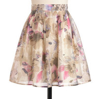 Opulent Bloom Skirt | Mod Retro Vintage Skirts | ModCloth.com