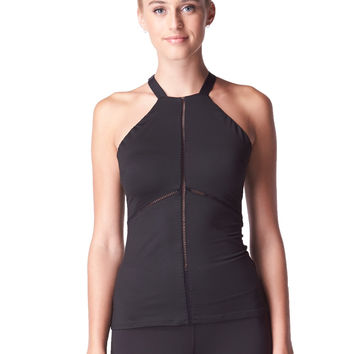 Michi Barre Tank - Black