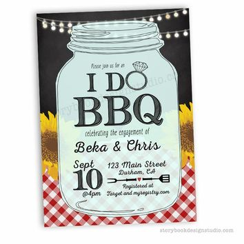 I Do BBQ Couples Wedding Shower / Rehearsal Dinner