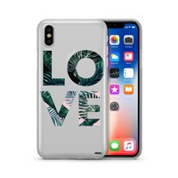 Palm Tree Love - Clear TPU Case Cover