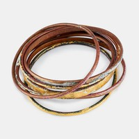 Handcrafted Enamel Bangles Set | Rodale's