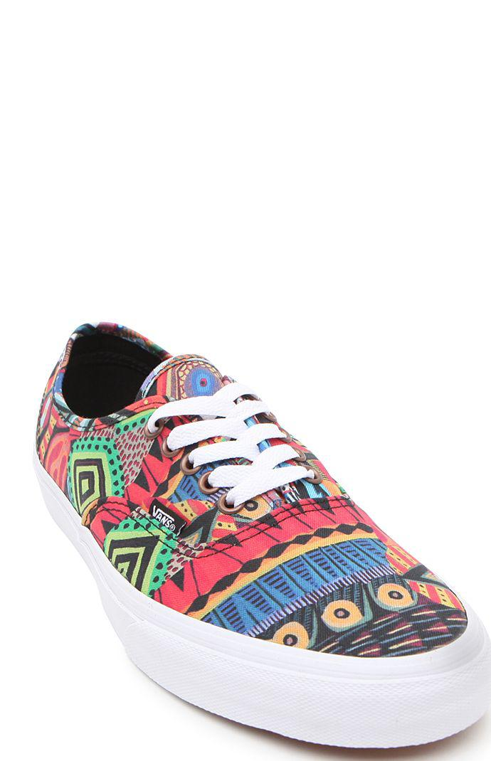 4eb4c2ab2b Vans Authentic Off The Wall Gallery Shoes - Mens Shoes - Multi