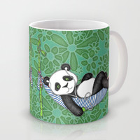iPod Panda - The Lazy Days Mug by micklyn