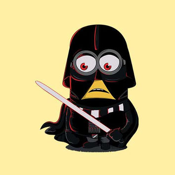 Darth Minion Adult Tee Shirt